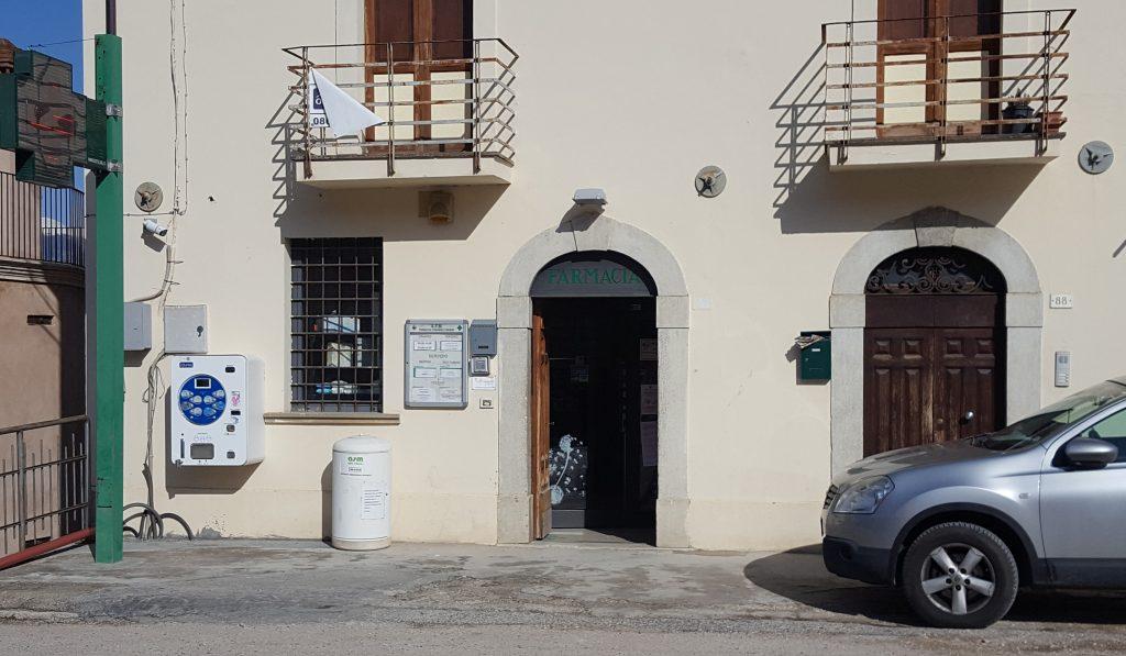 Foto della farmacia Civita di Bagno dall'esterno