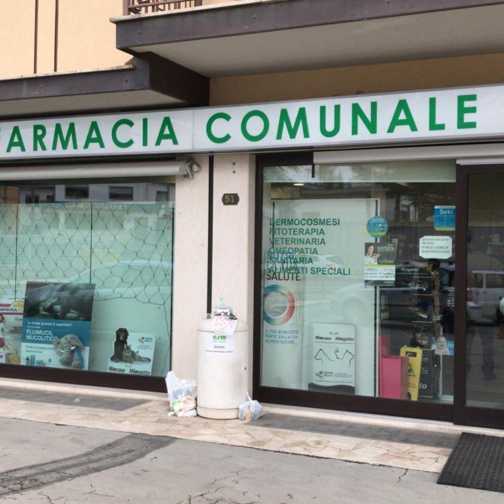 Foto della farmacia santanza dall'esterno